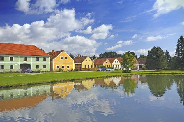Tschechische Häuser