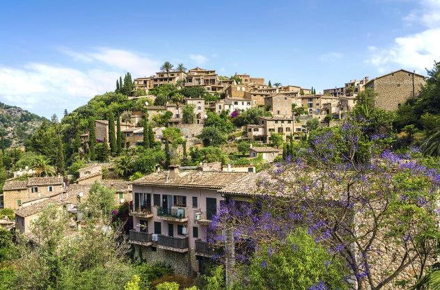 Majorca Deia village