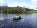 Boat on Brazilian River