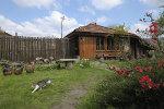 Haus in der bulgarischen Landschaft