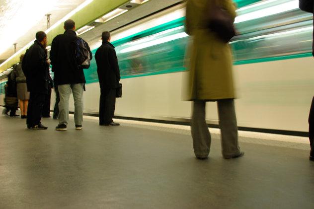 People Subway platform