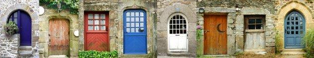 Old doors France