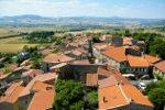 France Beautiful village in Auvergne
