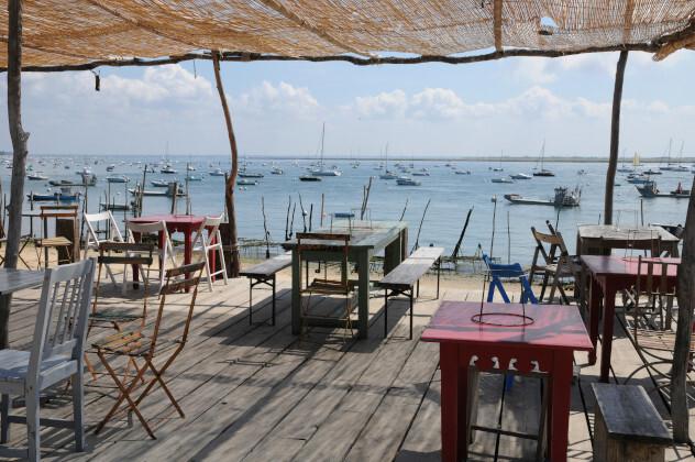 French beach restaurant
