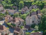 French village Saint Cirq Lapopie