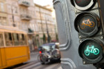 Traffic lights in Budapest