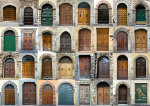 old doors in Italy