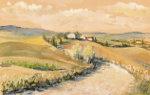 Tuscany, aquarell