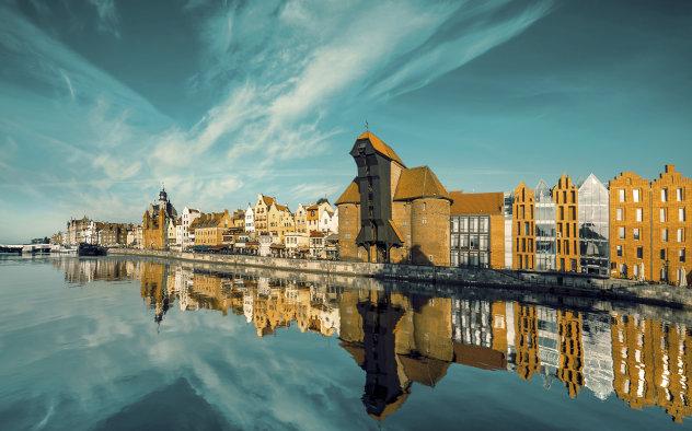 Stadslandschap van Gdansk