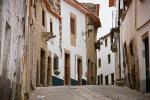 Street in Portuguese village
