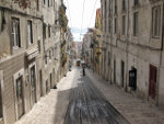 Street in Lissabon