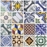 Portugal traditional tiles