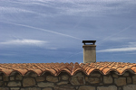 Roof of a house in Spain