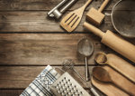 Rural kitchen utensils